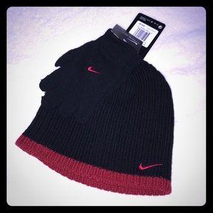 🚨🔥Nike Hat & Gloves 2pc Set🔥🚨